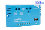 10A MPPT Solar Charge Controllers avec sortie USB