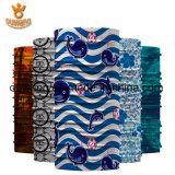 Kundenspezifisches Unisexim freiensport moslemisches Microfiber magisches nahtloses Gefäß Headwear