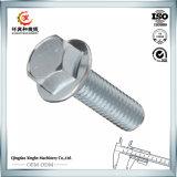 Boulon Hex des pièces d'auto C45 d'acier inoxydable avec le placage de zinc