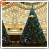 De Kunstmatige Kerstboom van de Naald van de Pijnboom van de sneeuw