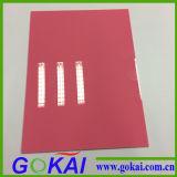 Feuille d'acrylique de la couleur 3mm de résistance de lumière UV pour annoncer le signe