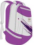 La course neuve de sac à dos d'école de mode de modèle folâtre des sacs