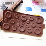 100 sacos selados do molde decorativo do chocolate do silicone do projeto