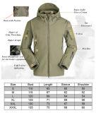 rivestimento militare impermeabile di caccia uniforme di Softshell dell'esercito di 21-Colors Camo Hoodie