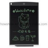 Placa de escrita eletrônica magnética do LCD de 12 polegadas das crianças de Howshow