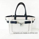 자물쇠 (NMDK-052502)를 가진 도매 PU 형식 디자인 숙녀 핸드백