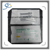 Cápsula de cristal animal de RFID para la gerencia animal