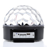 Fabrication LED cristal Magic Ball lumière MP3 Disco Magic Light avec Bluetooth