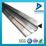Perfil de extrusão de alumínio da porta da janela de cor de bronze para o mercado das Filipinas
