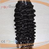A Virgin Cor Natural de cabelo humano tecelagem trama (PPG-l-01906)