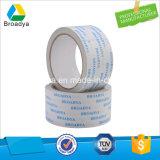 Disolvente de color blanco doble cara cinta adhesiva de tejido (DTS10G-11)