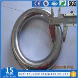 Нержавеющая сталь SS304 или Ss316 сваренные вокруг кольца