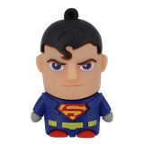 Dons 3D Superman PVC personalizadas de unidades flash USB
