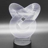Cadeau promotionnel de cadeau créateur acrylique d'éclairage LED