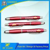 Penna su ordinazione poco costosa della bandiera di marchio di stampa con la penna di tocco per il regalo di promozione (XF-PM01)