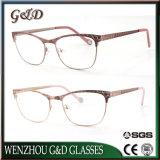 Il commercio all'ingrosso classico di stile di nuovo disegno 2019 rende a metallo Eyewear di ordine il blocco per grafici ottico degli occhiali