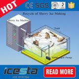 Einfaches Transport-Wasserkühlung-Meerestier-Markt-Schlamm-Eis-System