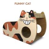 장난감 골판지 Scratcher 널을 긁어 삼각형 디자인 고양이