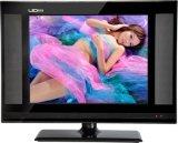 15/17/19 pouce d'affichage à cristaux liquides DEL TV sèche de télévision avec le VGA de poids du commerce HDMI USB