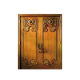 Intérieur décorant la porte en bois en bois de modèle de porte de teck moderne