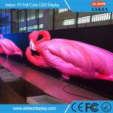 Panneau polychrome d'intérieur d'écran de la location P3 DEL de HD pour des événements