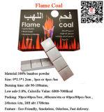 Steenkool van de Easy Light Natural Vlam van het Bamboe van Hong Qiang de Zilveren