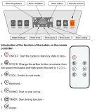 Refroidisseur d'air évaporatif portatif promotionnel avec la protection de pompe