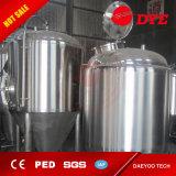 ステンレス鋼ビールビール醸造所の熱湯タンク装置