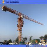 4ton Flat-Top Grúa torre de la serie Qtz50 5010 Top grúas giratorias