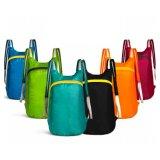야영하는 경량 어깨에 매는 가방 Backsack 접히는 여행 부대 하이킹