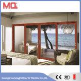 Porta de janela de alumínio de alta temperatura de alta qualidade com persianas