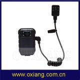 多機能1080P HD DVRのボディによって身に着けられている警察Pi IRのカメラのダッシュカム