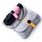 Guarda-chuva de Sun super de 5 dobras da cor cor-de-rosa mini