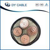 Cable de transmisión clasificado eléctrico del voltaje 0.6/1kv de la corriente 50Hz