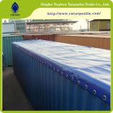 Tela incatramata rivestita di vendita calda del PVC di qualità buona in rullo