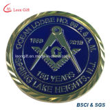 切り取られたデザインの工場によってカスタマイズされる金属の硬貨