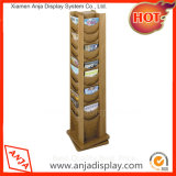 Le plus récent design Wood Flooring Shop Display Book Racks