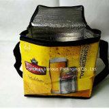 Sac de refroidissement isolé non-tissé personnalisé à 12 paquets, sac de pique-nique