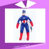 Hot Sell Peluche Personnages de bande dessinée Toy Captain America Stock for Promotion