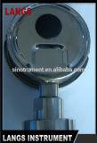 034 2016年の工場熱い販売法のBurdonの管のオイルの満たされた圧力計