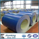 Bobina di alluminio ricoperta migliore colore per la decorazione della parete divisoria