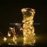 160 LEDs Bendable Flexible Micro Copper 8 Fil Direction chaîne de Noël Guirlande lumineuse