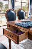Nuevos vector de cena del estilo de país y silla de madera americanos (AD311)