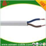 2x0.75mm2 H03VVH2-F isolés en PVC Câble d'alimentation électrique