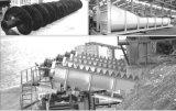 Моющее машинаа песчаника высокой эффективности одиночное спиральн