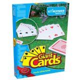 Riesige gigantische Spielkarten