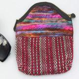 Accessoire de mode de Madame Cotton Purse de pochette de toile de Boho de femmes