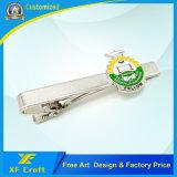 Personalizar la barra de sujeción en blanco de latón de metal con Soft enamel Artesanía (XF-TB03)