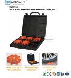 5pack Testemunho recarregável luz de segurança caso a luz estroboscópica
