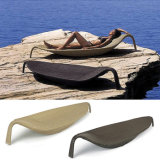 Rattan / Wicker Forme de la feuille Jardin extérieur Meubles de patio Beach Swimming Pool Lounge Lying Bed Sunbed Daybed